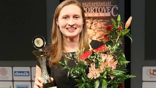 Nejúspěšnějším sportovcem Mostecka za rok 2018 je házenkářka Dominika Müllnerová.