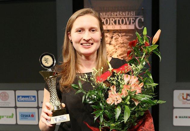 Nejúspěšnějším sportovcem Mostecka za rok 2018je házenkářka Dominika Müllnerová.