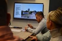 Vedení společnosti Sportovní hala Most představilo studii nové tréninkové haly