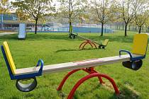 Dětské hřiště na aquadromu.