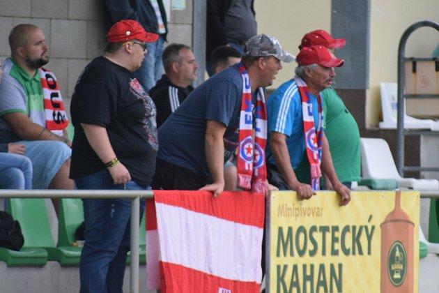 Soušští fanoušci.