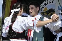 Lesná se stala střediskem folklóru.