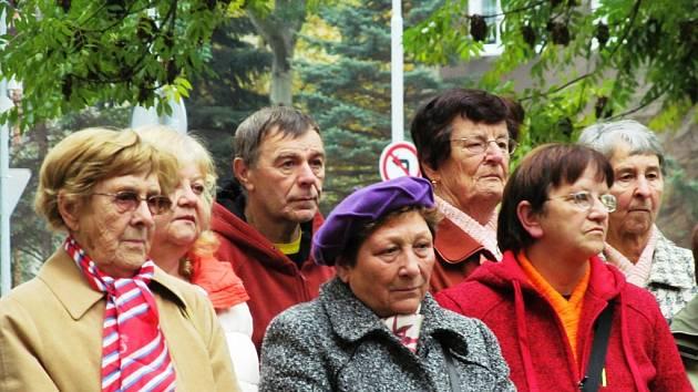 V Litvínově si připomněli výročí vzniku samostatného československého státu.