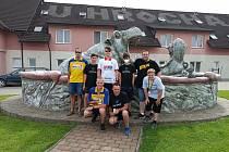 Mostecká výprava na turnaji Hroch Open Air ve Škrdlovicích.