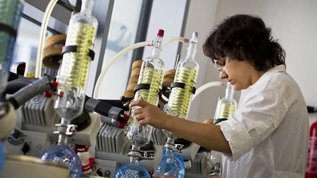 Firmy nemohou sehnat dostatek chemiků. Na snímku Ústav organické chemie a biochemie v Praze.