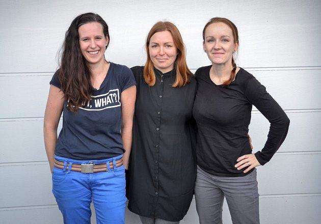Jana Jungmannová, Kateřina Trčková, Jana Kubánková. Tři ženy, které přišly sprojektem Moje město, moje místo.