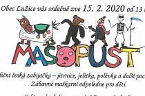 V sobotu bude masopust v obci Lužice u Mostu.