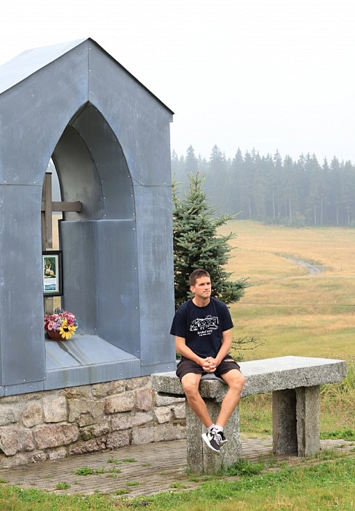 Spisovatel Štěpán Javůrek v milovaných Krušných horách
