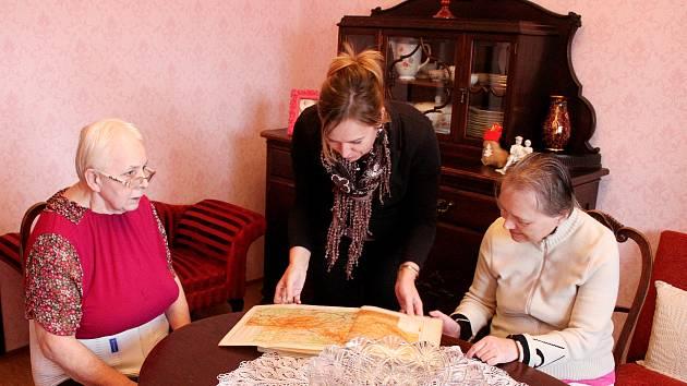 Vzpomínkový pokoj v domově pro seniory v Meziboří.