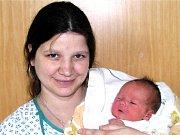 Maminka Ivana Stocková a její syn Martin Galas.