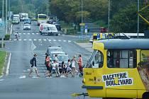 Most uvažuje o rozšíření tramvajové dopravy do velkých panelákových sídlišť kolem Kahanu.