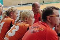 Černí andělé na turnaji v Německu, který vyhráli.