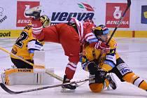 Litvínov doma v repríze posledního finále hostil Třinec.