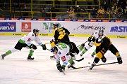 V utkání 47. kola Tipsport extraligy hostil celek HC Verva na svém ledě celek BK Mladá Boleslav.