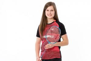 Mostecká badmintonistka Veronika Dobiášová.