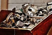 Do sběrného dvora lze nyní odkládat veškerý nepotřebný materiál, který se stal odpadem.