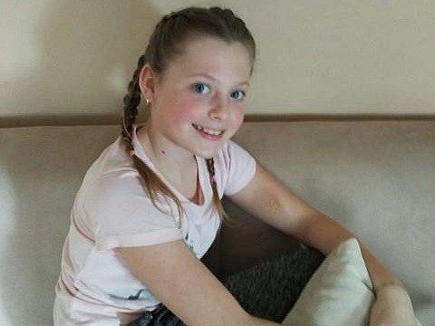 3. Aneta Friedrichová - 10let, Litvínov.