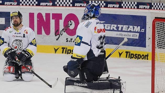 Liberečtí hokejisté zakončili uplynulý rok porážkou 2:5 v derby na ledě Litvínova.