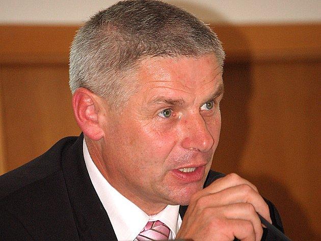 Starosta Litvínova Milan Šťovíček (VV).