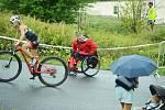 Závody v terénním triatlonu na Matyldě.