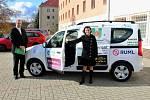 Slavnostní předání nového automobilu sociální organizaci Energie Meziboří
