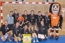 Mladé naděje házenkářského DHK Baník Most vyhrály doma na turnaji třetí místo.