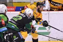 Litvínov ve třetím kole play out hostil Karlovy Vary.