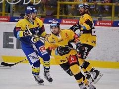 Litvínov hrál televizní duel na ledě Zlína.