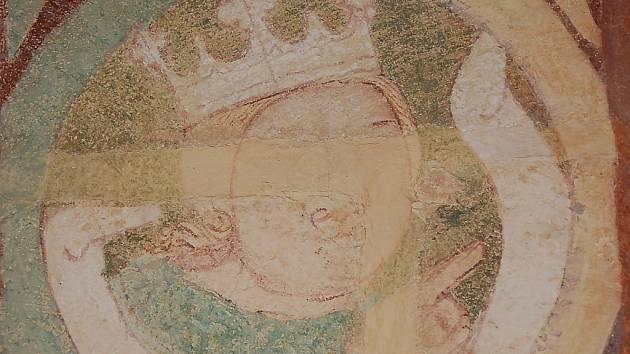 Obraz s králem neznámého autora.