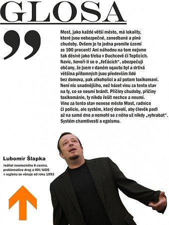 Glosa Lubomíra Šlapky