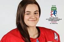 Hokejistka Kristýna Pátková.