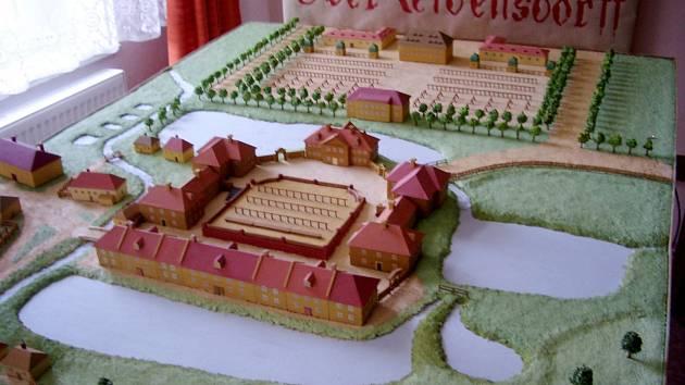 Po modelu města Litvínova postavil Petr Kašprák panství Valdštejnů.