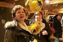 V Litvínově začaly Velikonoce. Odstartovala je vernisáž velikonoční výstavy a koncert komorní hudby.