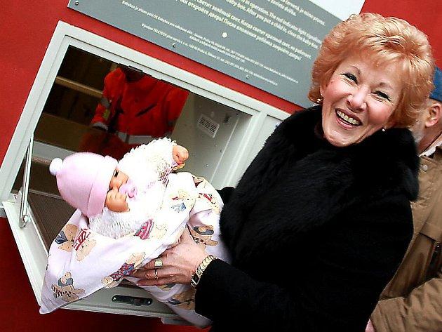 Babybox v mostecké nemocnici