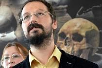 Kryštof Derner z Ústavu archeologické památkové péče severozápadních Čech.