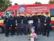 Družstvo HZS Ústeckého kraje z Územního odboru Most vybojovalo při mistrovství Nitranského kraje na Slovensku stříbro.