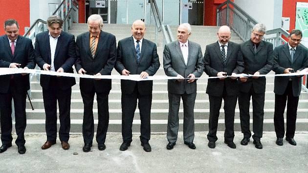 Slavnostní ukončení rekonstrukce mostecké nemocnice.