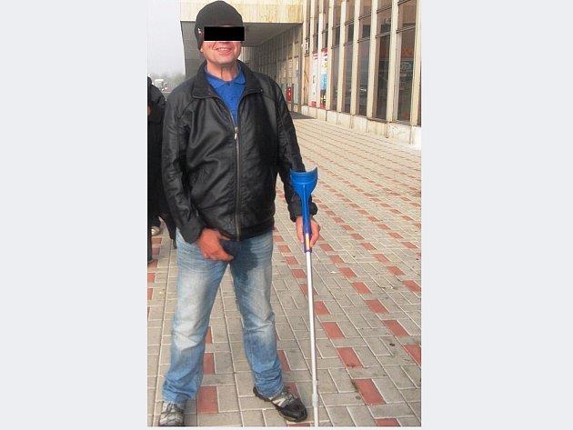 Tento muž se podle městské policie obnažoval.
