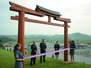Věznice Bělušice představila okrasnou zahradu pro setkávání vězňů s jejich rodinami.