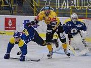 Hokejová příprava Litvínov versus Ústí nad Labem.