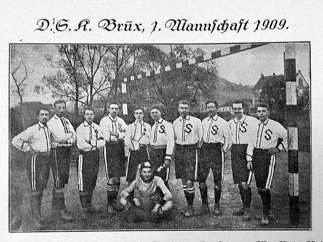 Fotbalový klub DSK Brüx.