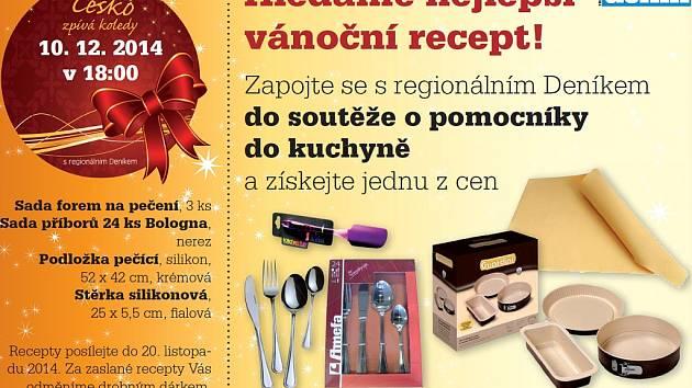 Hledáme nejlepší vánoční recept!