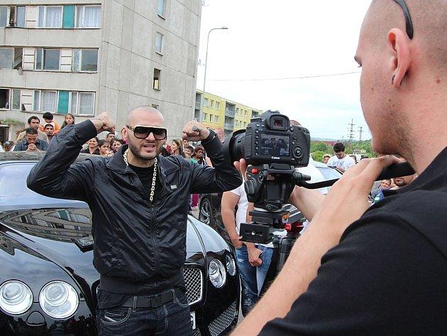 Rytmus natáčí videoklip v Chánově.