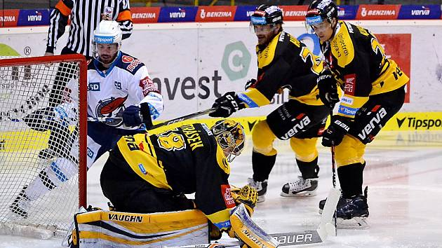 Litvínov hrál v přípravě s Chomutovem.