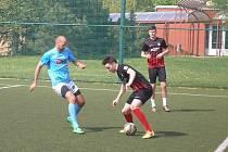 Fanoušci sledovali v Mostecké lize malé kopané šesté kolo.