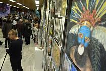 V ZUŠ Moskevská Most začala vernisáží přehlídka výběru prací ze 45. ročníku Mezinárodní dětské výtvarné výstavy Lidice