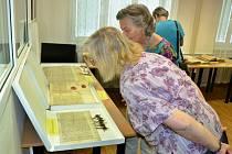 Den otevřených dveří ve Státním okresním archivu v Mostě a v pobočce Státního oblastního archivu Litoměřice v Mostě - Velebudicích