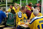V Litvínově začal 20. sraz hokejových fanoušků.