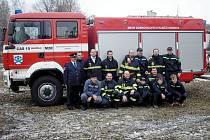 Sbor dobrovolných hasičů Obrnice, který v neděli oslaví 130 let svého trvání.