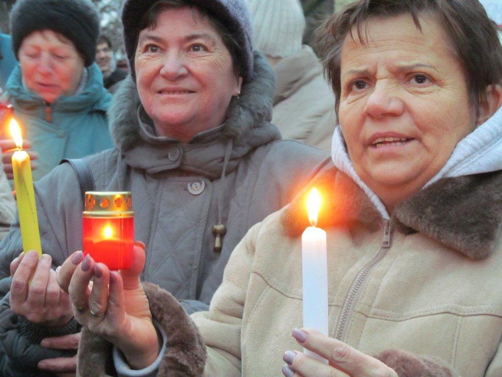 V Horním Jiřetíně se konal happening na zachování limitů.